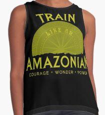 Train Like An Amazon Contrast Tank
