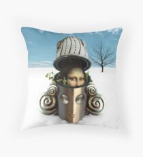 New Woman Throw Pillow
