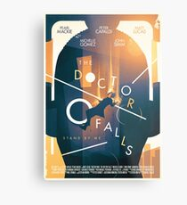 The Doctor Falls Metal Print