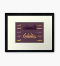 Mini 70s Style Framed Print