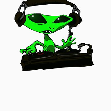 Alien DJ by moonbug