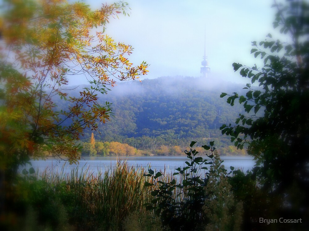 Black Mountain in Canberra by Bryan Cossart