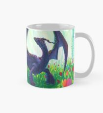 Rainbow Iridescent Dragon Mug