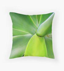 Agave attenuata Throw Pillow