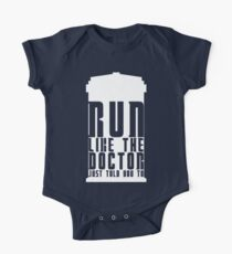 Run Like the Doctor Just Told You To One Piece - Short Sleeve
