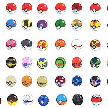 Pokeballs by KyleJDM4