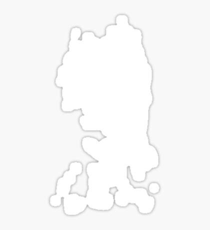 Unknown face Sticker