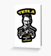 Nicola Tesla  Greeting Card
