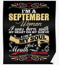 I'm a september woman Poster