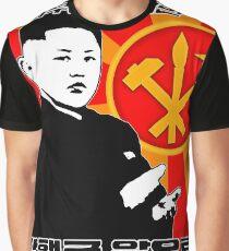 Kim Jong-un Graphic T-Shirt