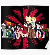 Big Damn Ponies Poster