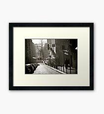 Montmartre Stroll Framed Print