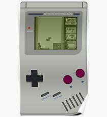 Game boy Pocket Tetris Poster
