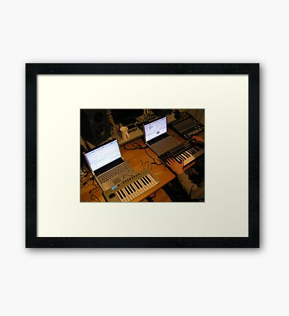 Sontage Equipment Framed Print