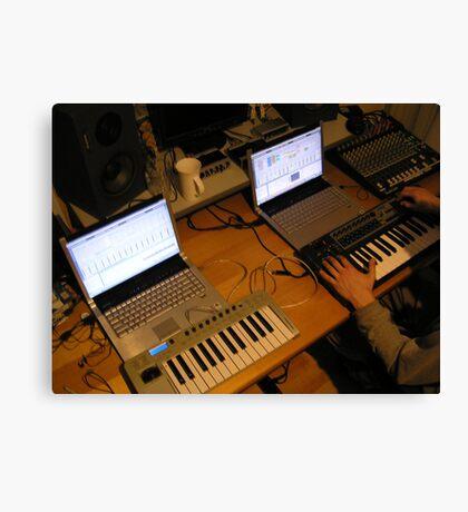 Sontage Equipment Canvas Print