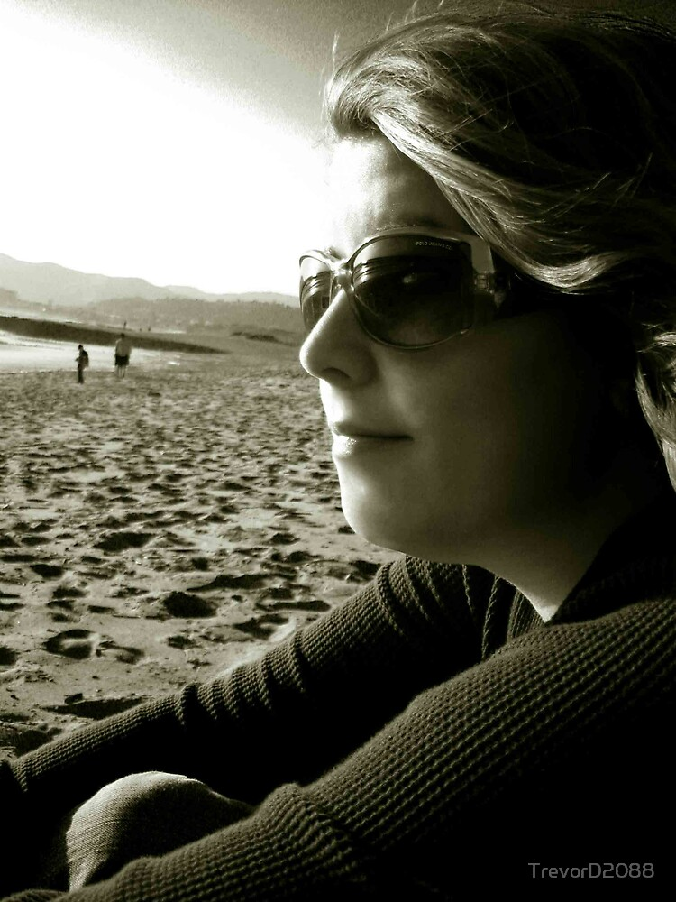 Denise on the Beach 2 by TrevorD2088