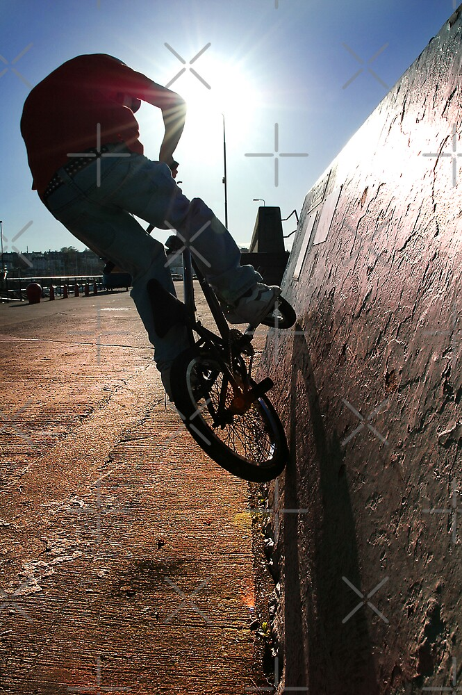 Wall Ride..........by artist by Stevie Mancini