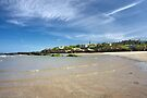 St. Andrews from the West Sands by Kasia-D