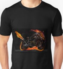 Ghost Rider Neon-racing T-Shirt