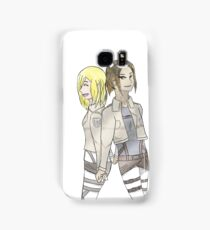 Ymir and Historia Samsung Galaxy Case/Skin