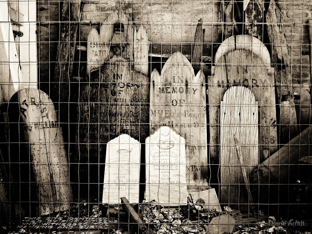 Headstones by Diane Arndt