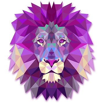 Pink Lion Head de mad-designs