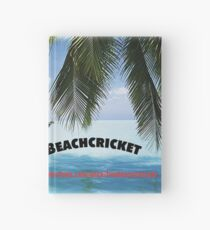 BEACHCRICKET IN A HAMMOCK Hardcover Journal