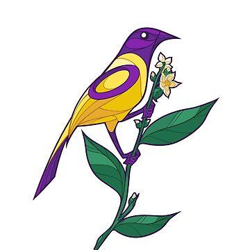 Pride Birds - Intersex de wanderingkotka