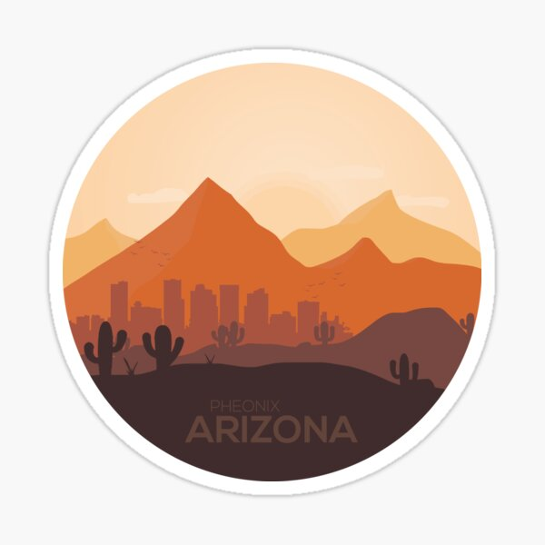Phoenix Arizona Sticker