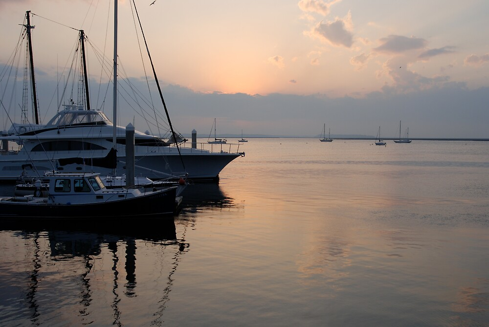 Sunset - Amelia Island by Robert Baker