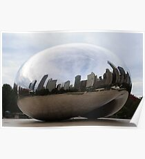 Chicago Bean (During The Day) Poster