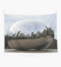Chicago Bean (During The Day) Wall Tapestry