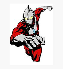 Ultraman Photographic Print