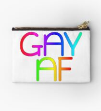 Gay AF - Show your pride with pride! Studio Pouch