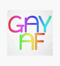 Gay AF - Show your pride with pride! Scarf