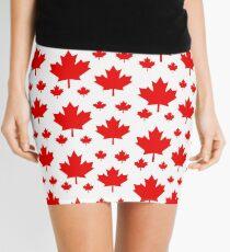 Kanada-Ahornblatt-Flaggen-Emblem Minirock