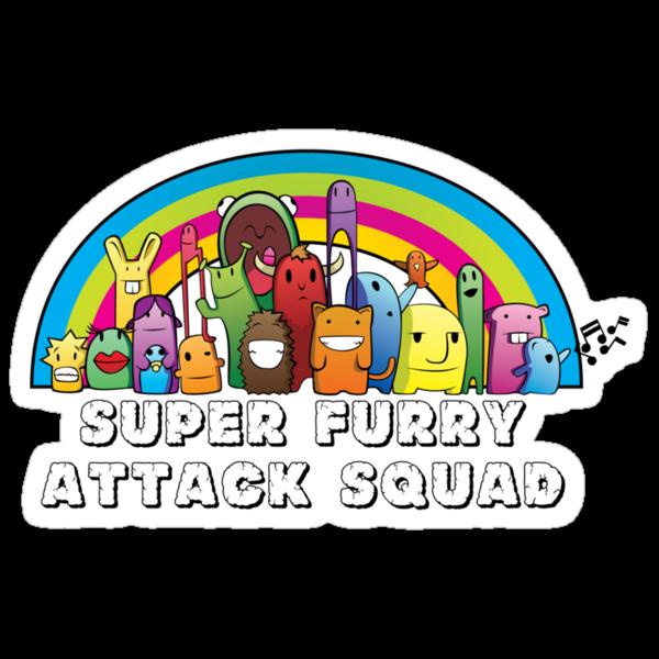 SUPER FURRY ATTACK SQUAD by Flegge