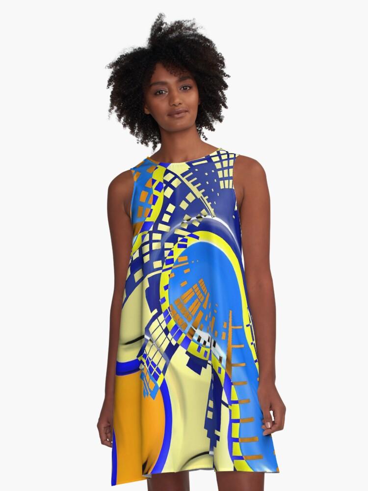 Shapes 7. A-Line Dress Front