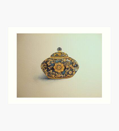 The Imperials 'Miniature' Oval Urn No 1 © Patricia Vannucci 2008  Art Print