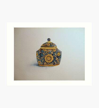 The Imperials 'Miniature' Hexagon Urn No 2 © Patricia Vannucci 2008  Art Print
