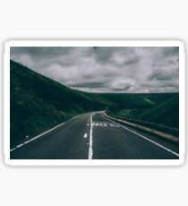 Me, You and the Open Road Sticker