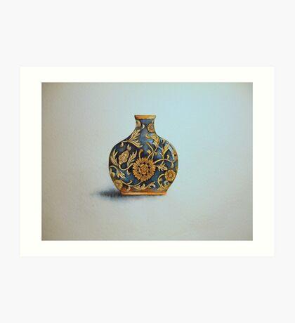 The Imperials 'Miniature' Flat Vase No 3 © Patricia Vannucci 2008  Art Print
