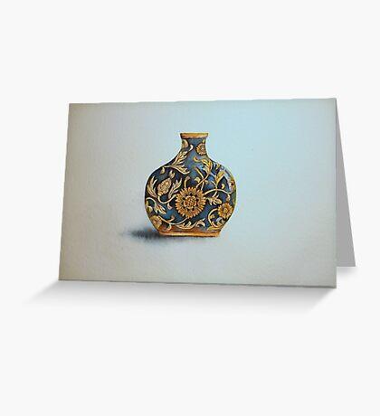 The Imperials 'Miniature' Flat Vase No 3 © Patricia Vannucci 2008  Greeting Card