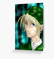 Link, Hero of Time Greeting Card