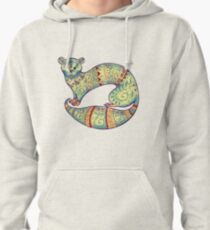 fabulous butter colour ferret  Pullover Hoodie