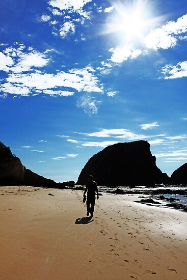 Walking On The Beach by Evita