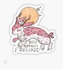 Lucky Jackalope Sticker