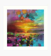Saturate Art Print