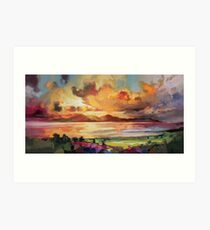 Arran Optimism Art Print