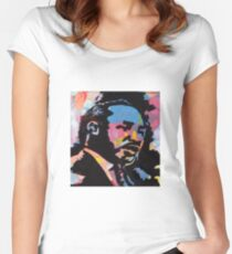 MLK Women's Fitted Scoop T-Shirt